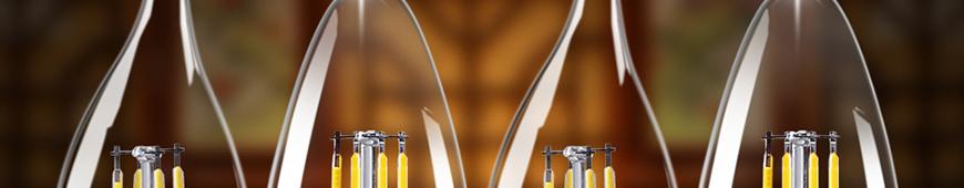 LED filament kaarslamp