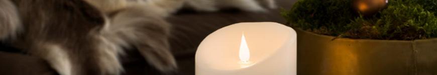 kaarsen op batterij