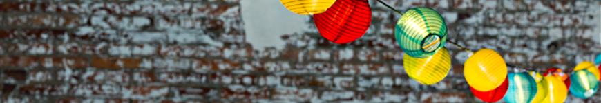lantaarn lichtsnoer led verschillende kleuren