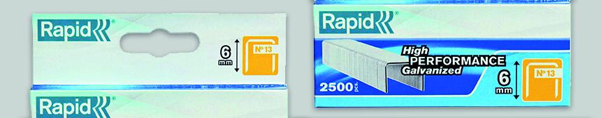 Nieten nummer 13 RVS van Rapid