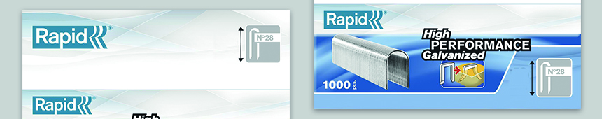Nieten nummer 28 DP Wit van Rapid