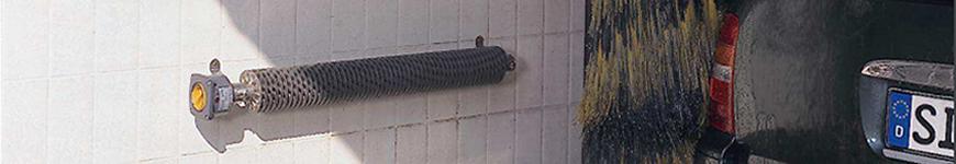 Elektrische RVS ribbenbuiskachel met thermostaat