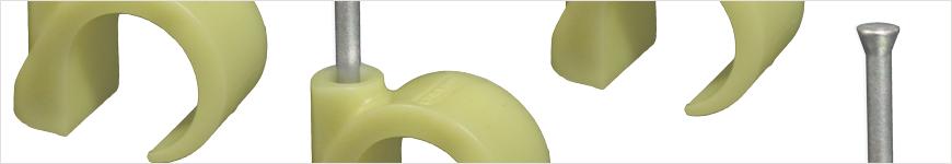 spijkerclips geel 16mm