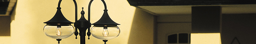 Klassieke buitenlamp Libra van Konstsmide