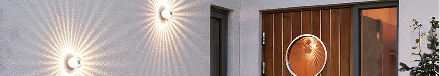 Konstsmide buitenverlichting wandlampen