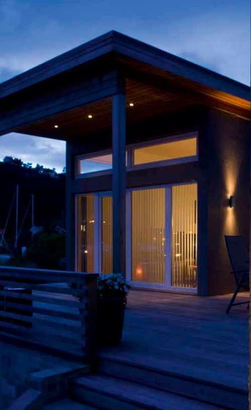 Inbouwspots voor buiten met een warm wit licht