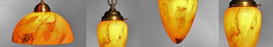 hanglampen van glas