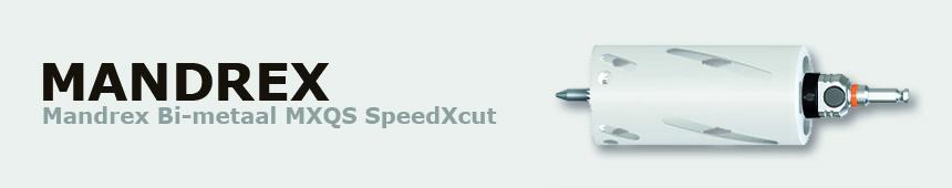 Mandrex Bi-metaal MXQS SpeedXcut 165mm