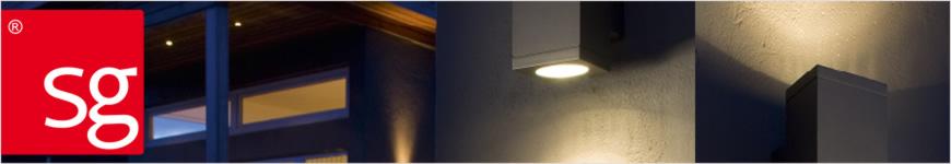 SG LED echo vierkant sfeer