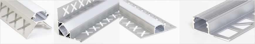 LED profielen gipsplaat