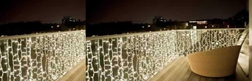 LED kerst gordijnverlichting