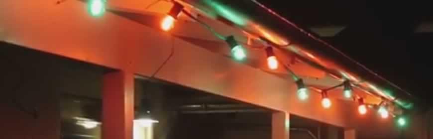 LED prikkabel rood groen