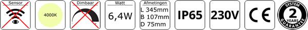 Technische specificaties 136-024