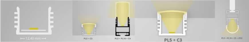 LED profiel galaxy PL5