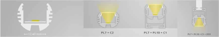 LED profiel PL7