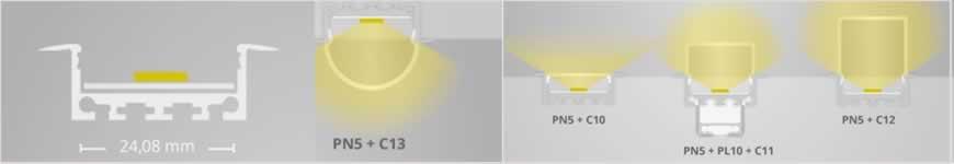 LED profiel PN5 Galaxy
