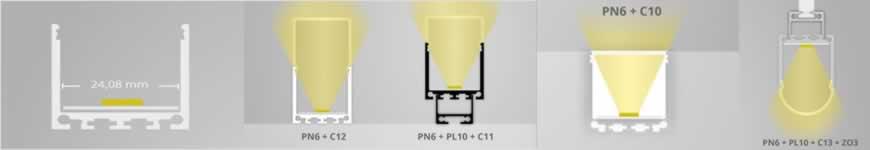 LED profiel PN6