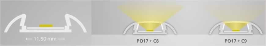 LED profiel PO17