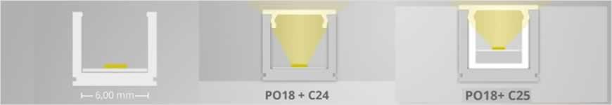 PO18 led profiel