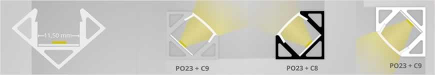 LED profiel PO23