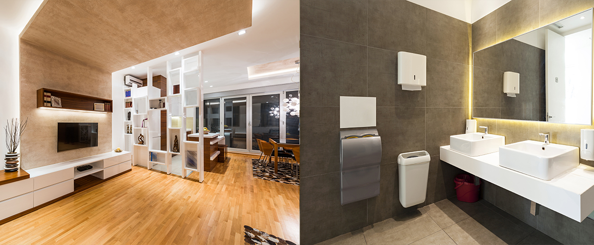 LED profielen badkamer