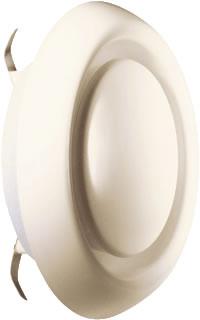 Itho ventilatieventiel KLV 100 RAL9002 grijswit