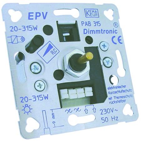 Klemko inbouw dimmer 891040 D-PAF-315 PAB 315