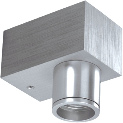 KlemKo LED downlighter 1W aluminium geborsteld LED naturel wit 865400