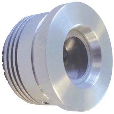 Klemko LED Moka 35mm warmwit LED module geborsteld aluminium 876702