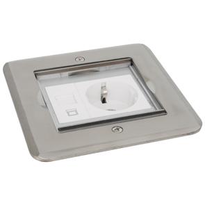 Vloer Stopcontact Spanning: 250V 16A