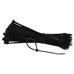 Bundelbandjes 100mm lang 23mm breed zwart polyamide 100 stuks