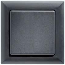 Eltako wandzender FT55 zwart glanzend FT55G-sg