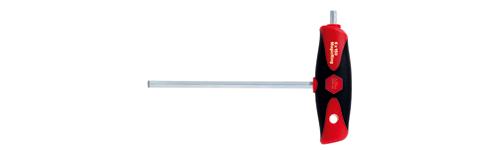 Wiha inbussleutel T comfortsleutel met Magicring en zijpunt 6mm lengte 150mm 26138