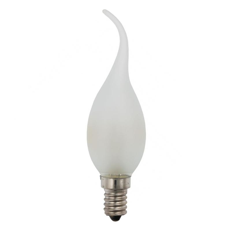 Tipkaarslamp E14 15W mat 10 stuks 230V