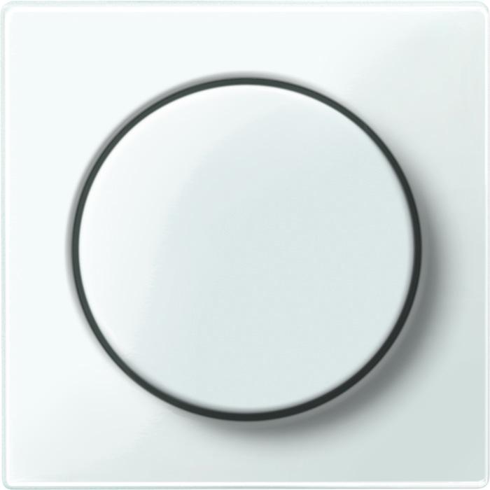Merten centraalplaat met dimknop polarwit glanzend MTN5250-0319