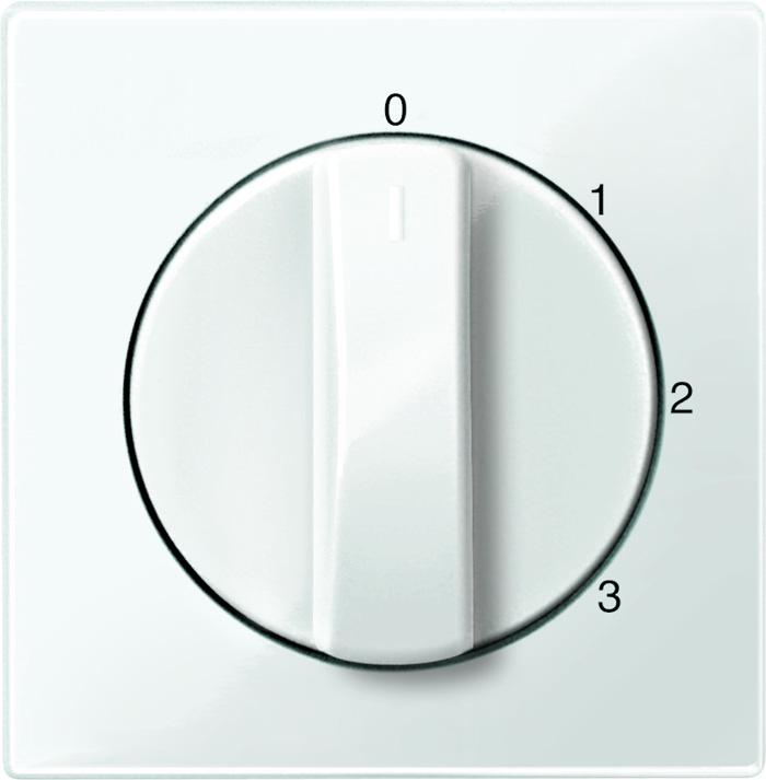 Merten centraalplaat voor driestandendraaischakelaar MTN567219