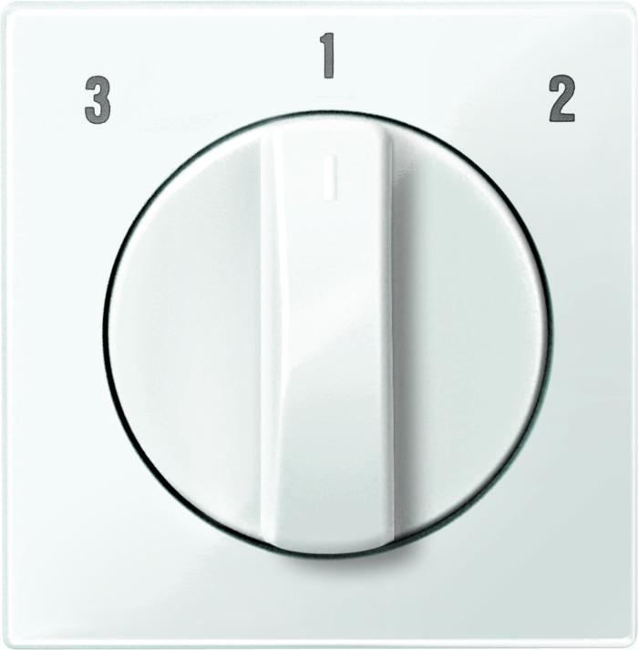 Merten Centraalplaat voor ventilatorschakelaar MTN567319