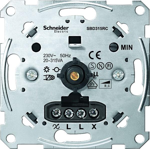 Merten dimmer 20 - 315W voor elektronische trafo