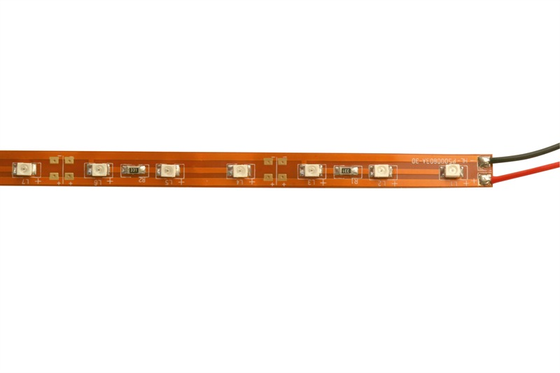 LED strip blauw indoor 8 x 025mm 300 LED's blauw 5M Tronix