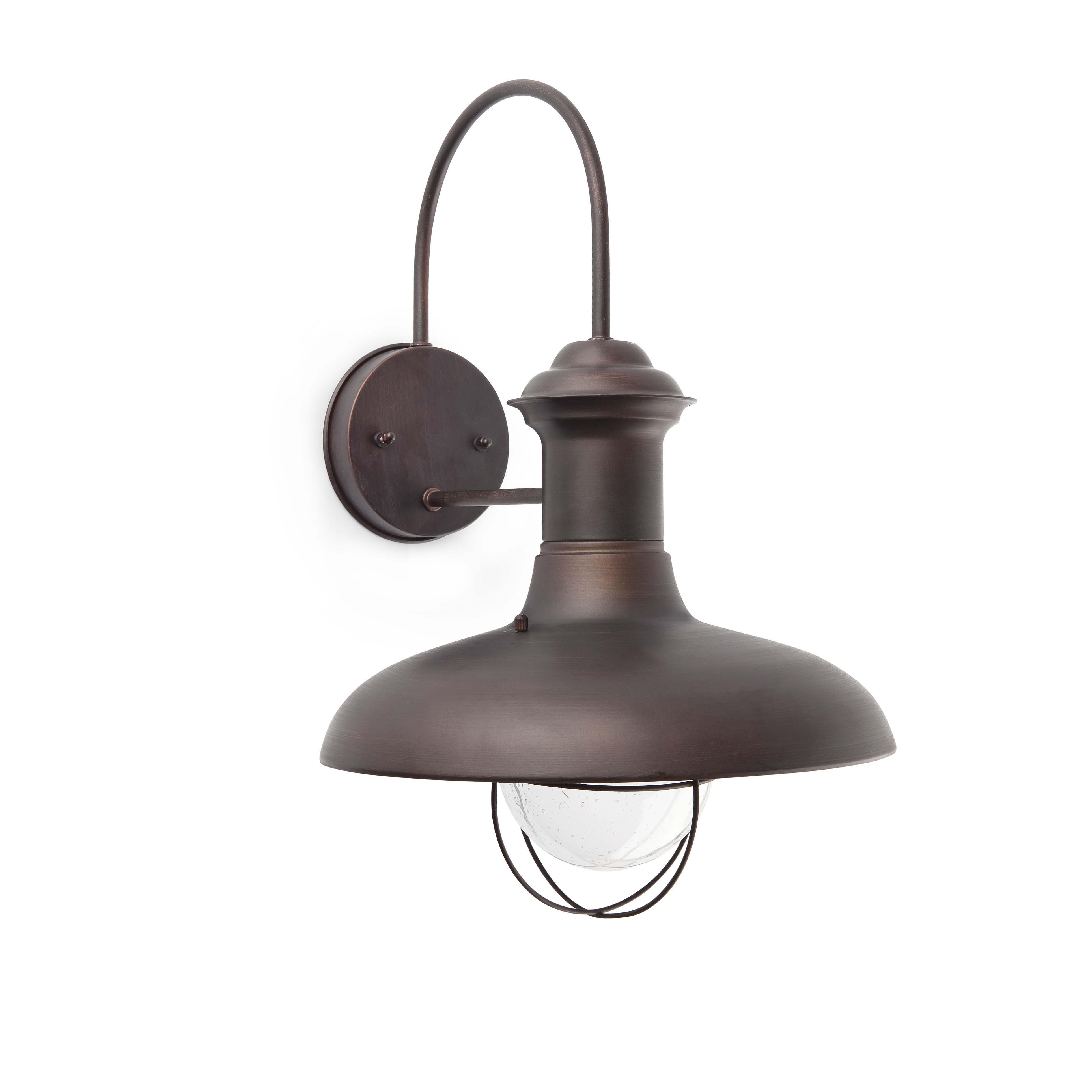 Klassieke wandlamp estoril groot roestkleurig 8071141 esr - Apliques de pared rusticos ...