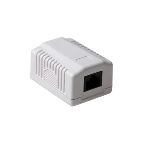 Cat 6 netwerkdoos opbouw 1xRJ45 FA6003