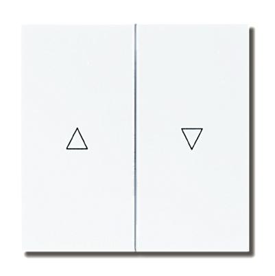 Dubbele wip voor jalouzieschakelaar 332DUW Presto Vedder