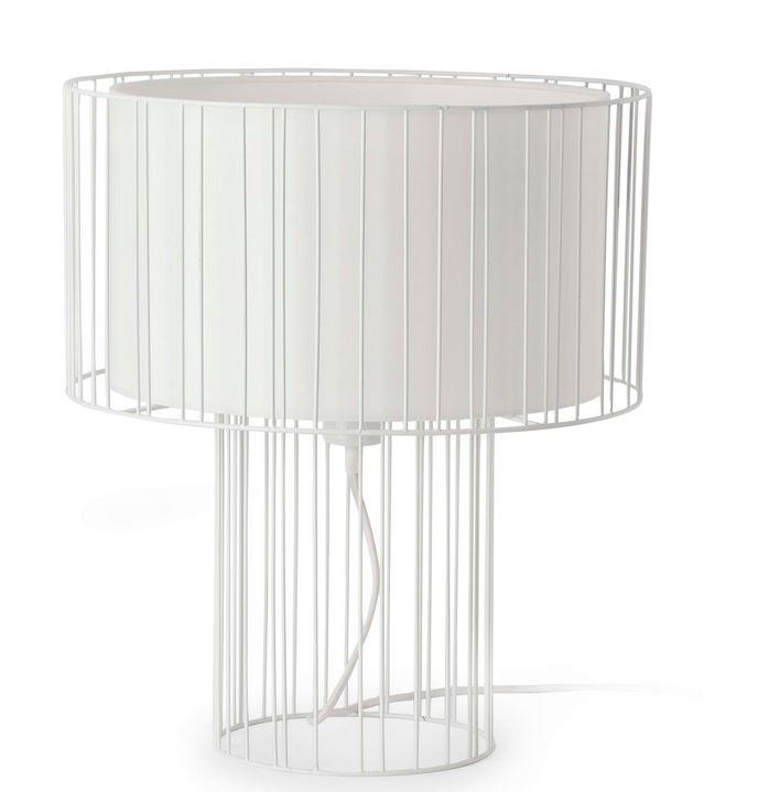 Linda witte tafellamp