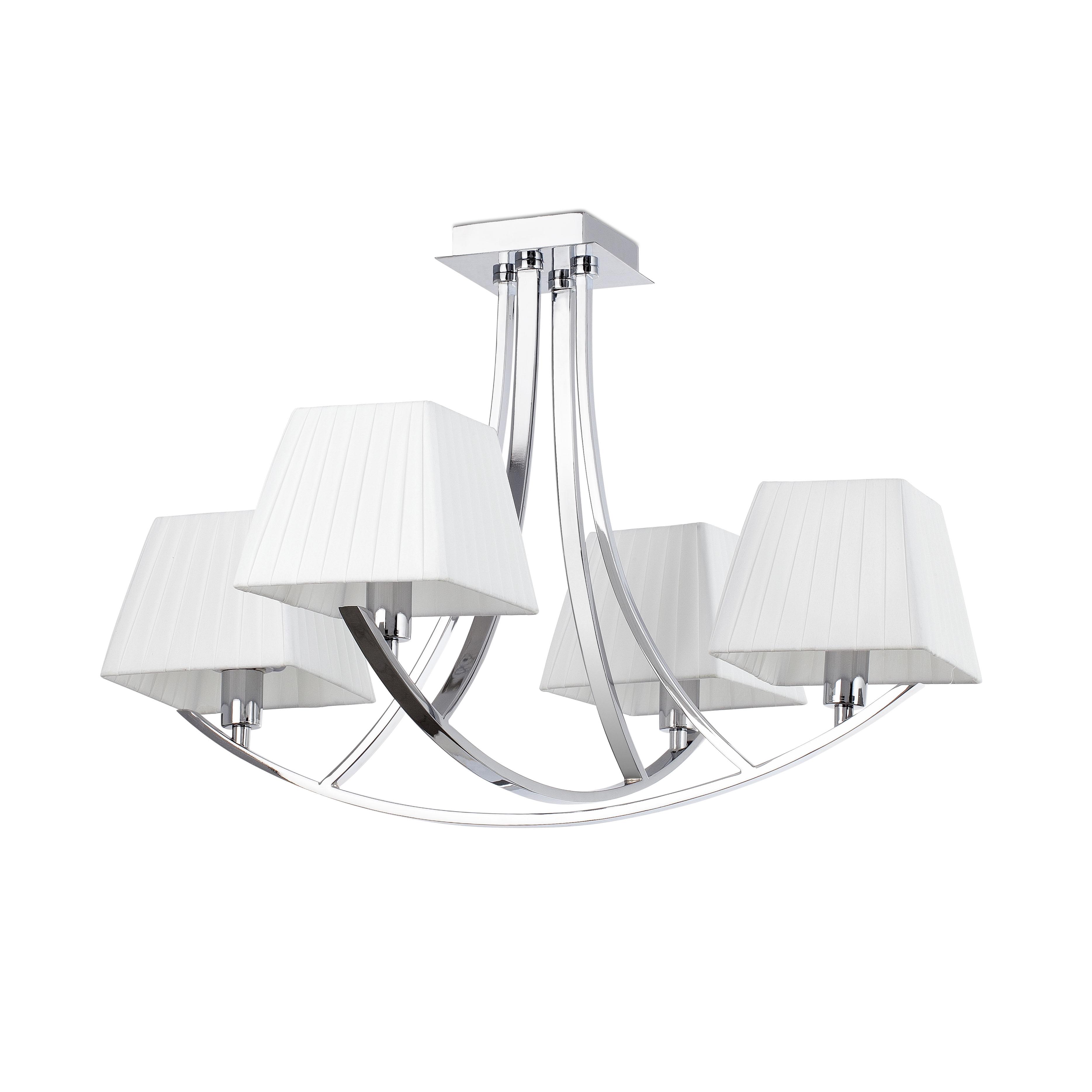 Rio hanglamp chroom 4L