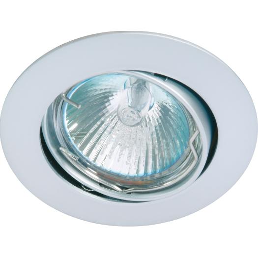 LED Inbouwspot chroom mat kantelbaar Deluna