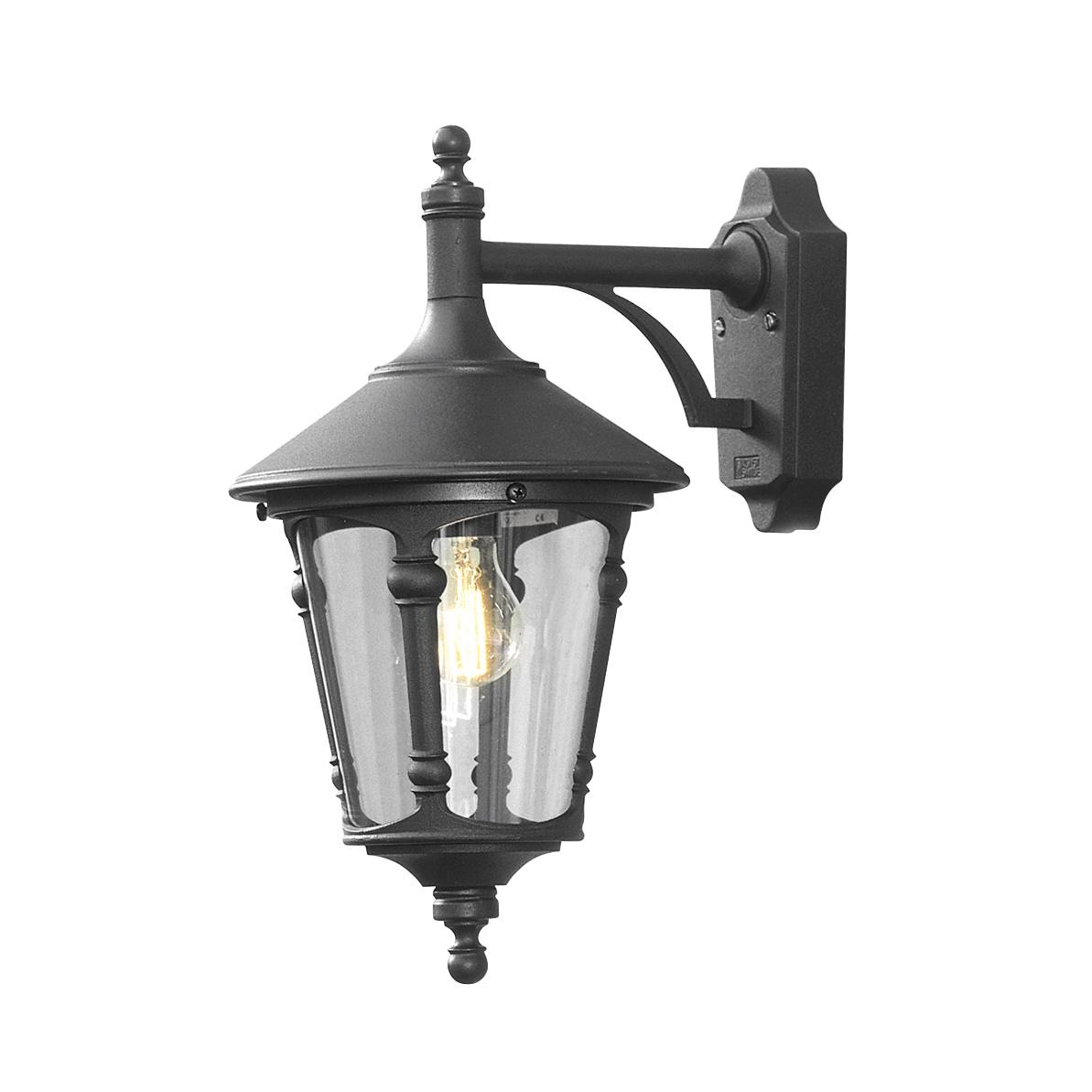 wandlamp virgo hanglamp zwart buitenlamp konstmide 568 750. Black Bedroom Furniture Sets. Home Design Ideas
