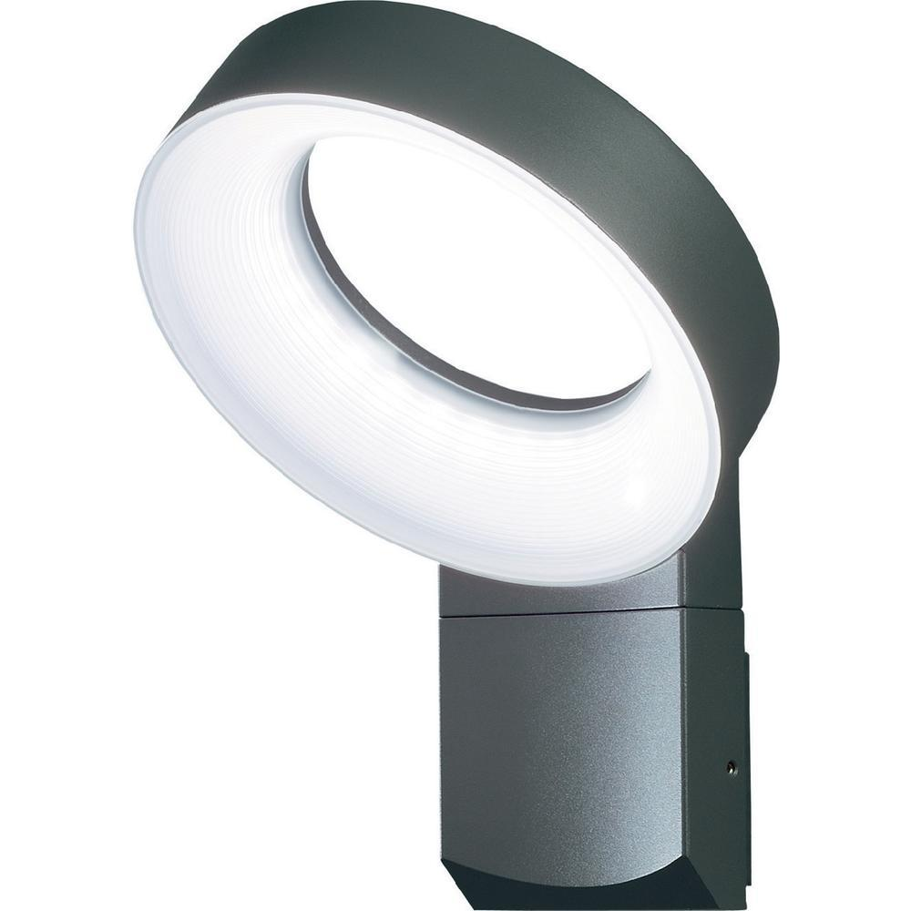 asti wandlamp met led verlichting ringvorm antraciet 7273 370. Black Bedroom Furniture Sets. Home Design Ideas