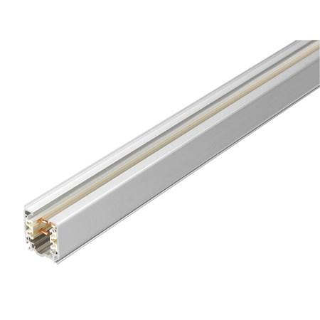 Spanningsrail 3 fase 100 cm aluminium 876300 Klemko