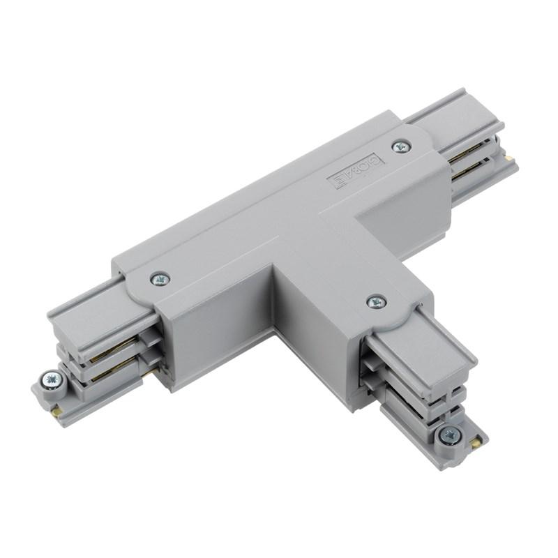 T stuk spanningsrail 3 fase rail aluminium links 873316 Klemko