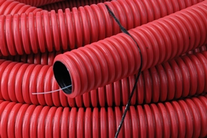 Kabelflex 63mm 50M kleur rood